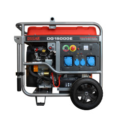 GENERADOR BENCINERO 11.0KW 220V MOD.DG15000E